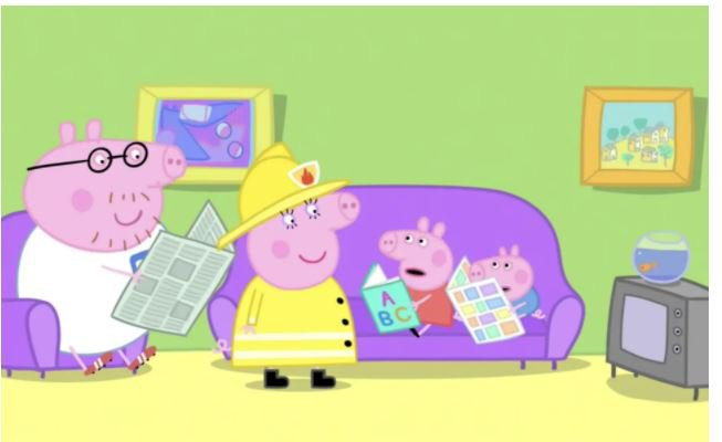 Peppa Pig episode 'The Fire Engine'. CREDIT: PEPPA PIG