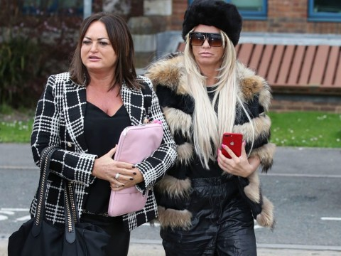 Katie Price pleads not guilty to threatening behaviour charges as she now faces trial