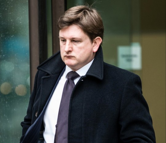 20/03/2019 Westminster Magistrate?s Court. (London). Pic shows Matthew Feargrieve leaving the court. A lawyer repeatedly attacked another attendee during an opera performance because he moved a coat from a seat, a court heard. Matthew Feargrieve, 42, repeatedly punched Ulrich Engler on the shoulder during a performance of Wagner?s Siegfried at the Royal Opera House in Covent Garden is 7 October last year. Westminster Magistrates Court heard today (weds) that the altercation occurred after Mr Engler moved a coat belonging to XXX wife from an empty seat. SEE STORY CENTRAL NEWS. 020 72360116. Picture: Brais G. Rouco/ Central News