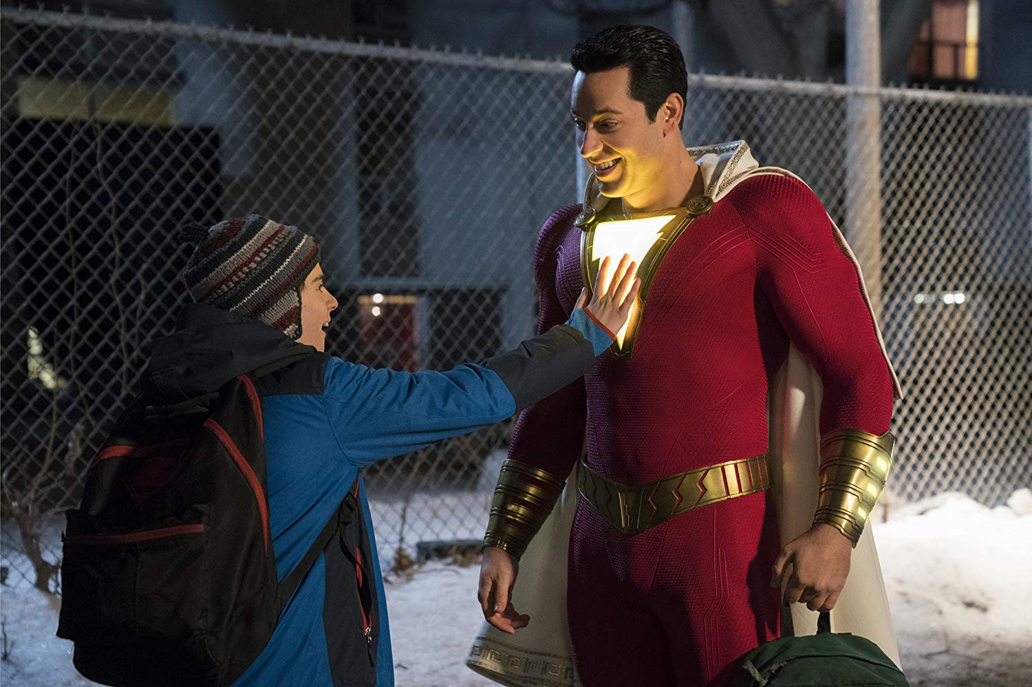 Zachary Levi feared he was 'too old' to play a superhero Shazam! Provider: Warner Bros. Source: https://www.imdb.com/title/tt0448115/