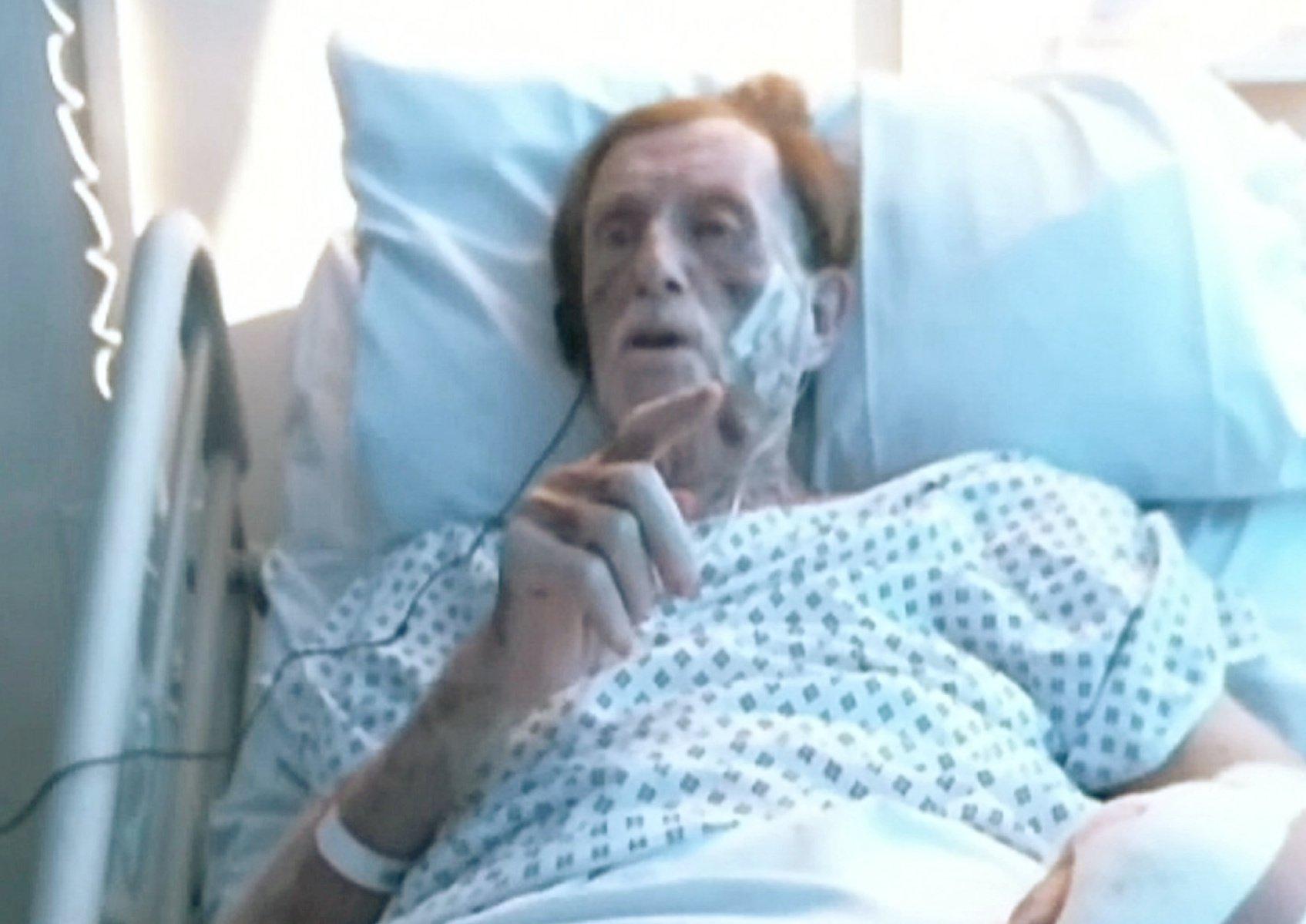 Traveller guilty of killing pensioner, 87, whose hands were skinned in burglary
