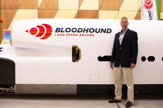 British team resumes bid to build super fast 'Bloodhound' car to break land-speed record