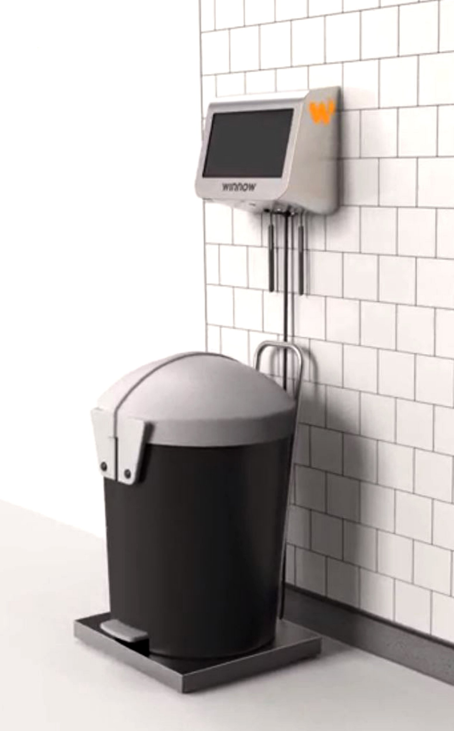 Artificially intelligent bin aims to cut down on food waste