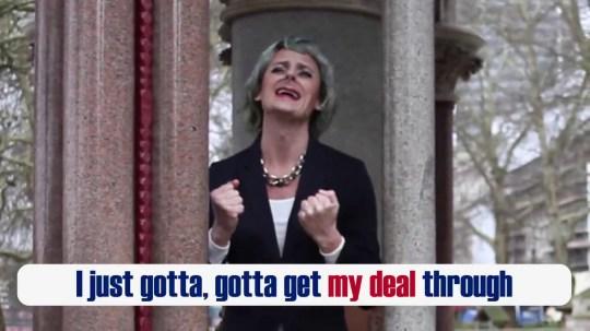 METROGRAB: Theresa May's Backstop Song (Rehab Parody)