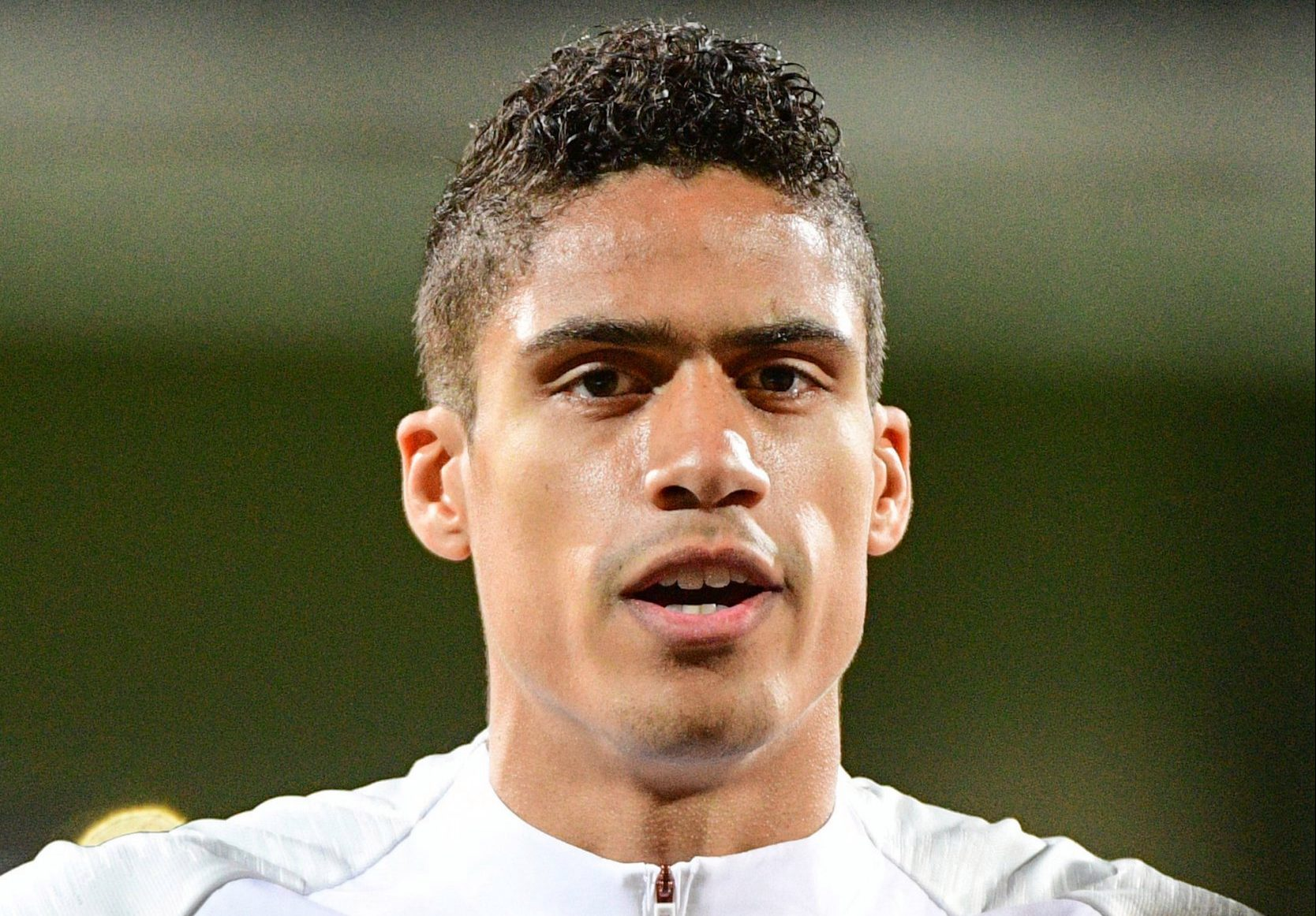 Raphael Varane of France during the Qualifying European Championship match between Moldova and France at Zimbru Stadium on March 22, 2019 in Chisinau, Moldova. (Photo by Dave Winter/Icon Sport via Getty Images)