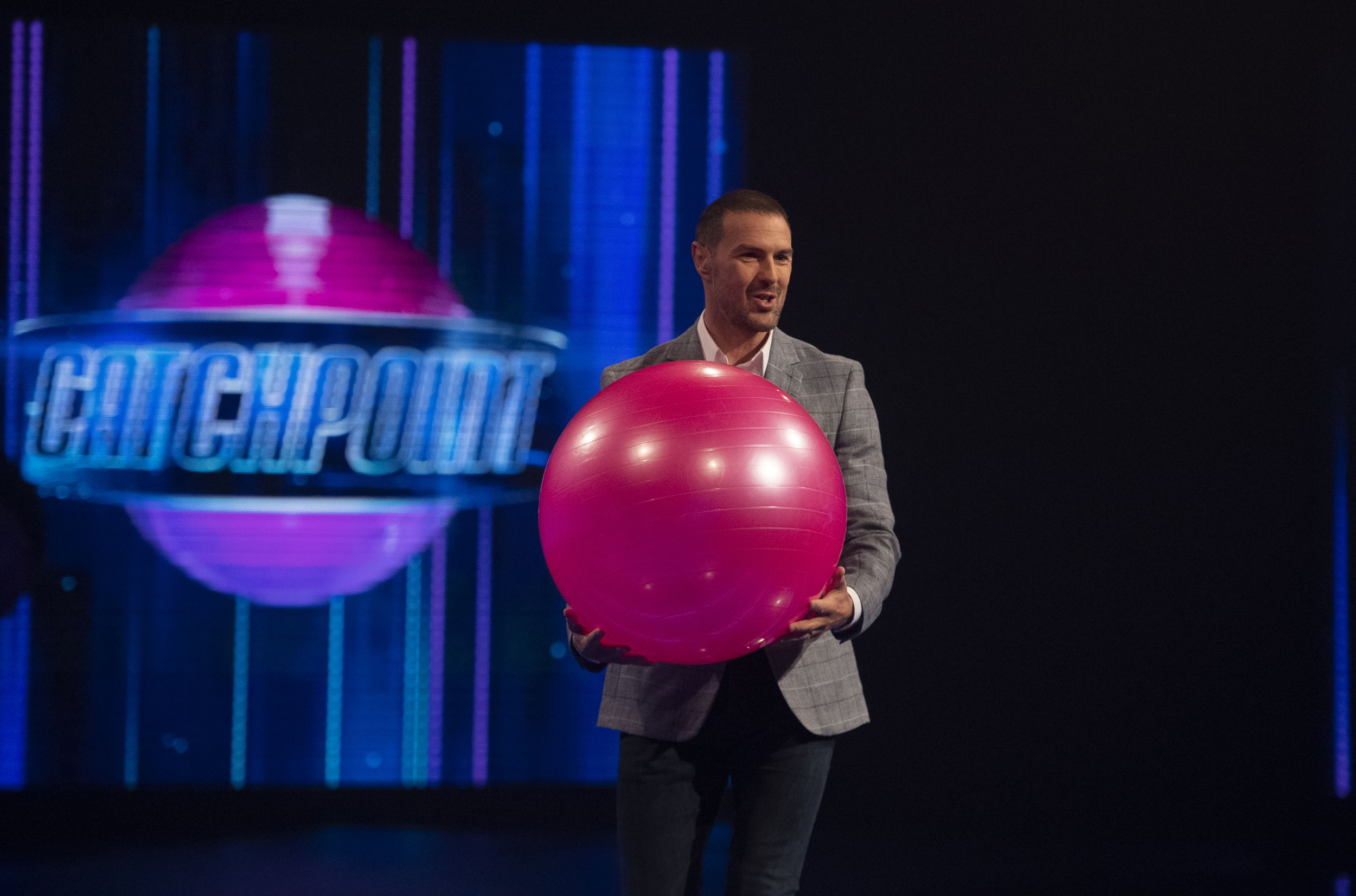 Programme Name: Catchpoint - TX: n/a - Episode: Catchpoint - Generics (No. 1) - Picture Shows: Paddy McGuinness - (C) 12 Yard - Photographer: Graeme Hunter