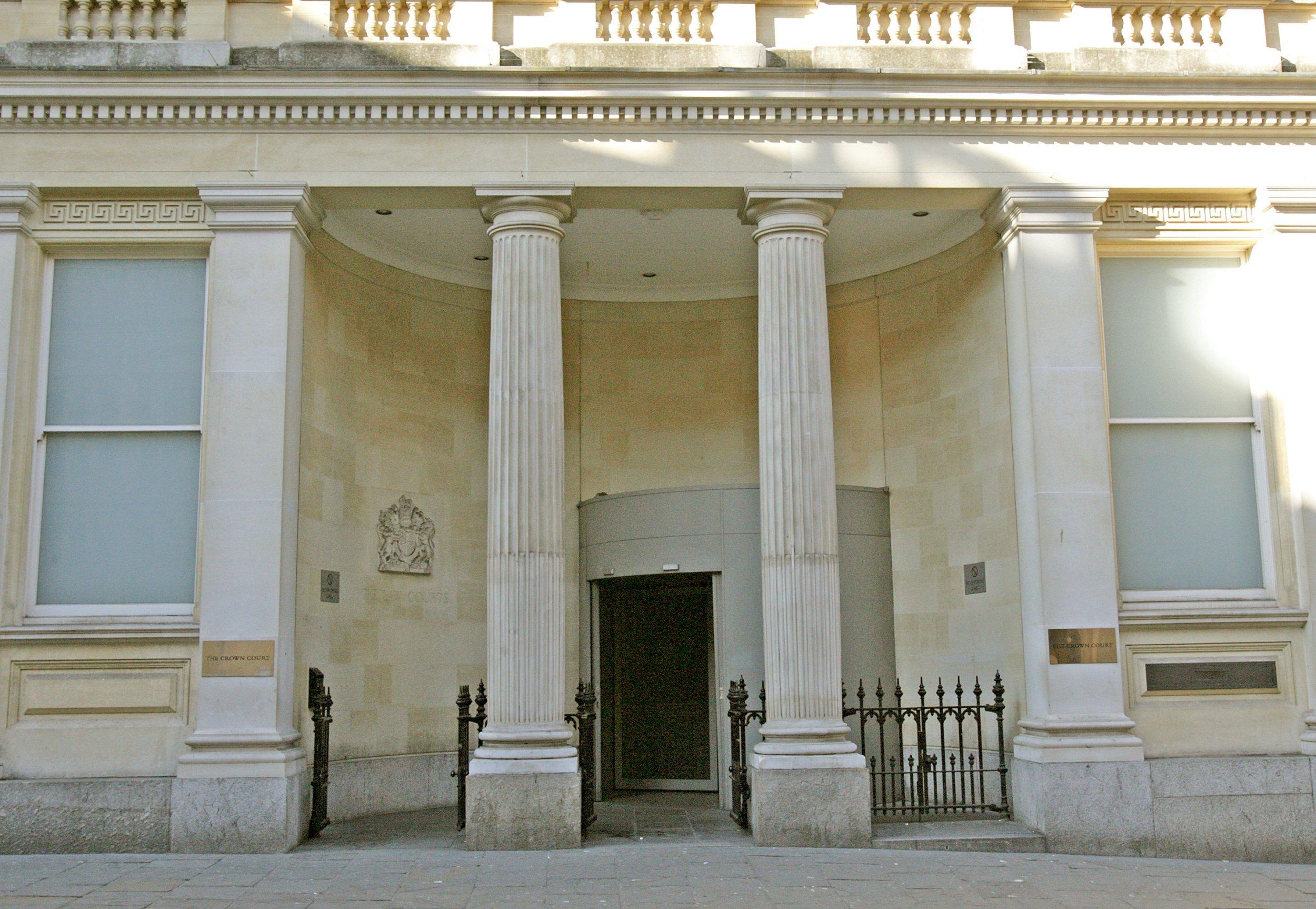 Eine allgemeine Ansicht des Bristol Crown Court