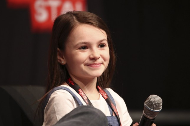 Walker Stalker Con Berlin 2019, held at the Messe Berlin exhibition grounds in Berlin, Germany. Featuring: Cailey Fleming Where: Berlin, Germany When: 23 Mar 2019 Credit: Jacqueline Quintern/Future Image/WENN.com **Not available for publication in Germany**