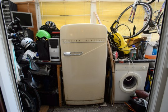 An old fridge has reached pensioner status - by keeping its cool for 65 YEARS. The retro fridge, named Big Bertha, has been plugging away since 1954. And it is not set to retire anytime soon as its still in full working order. ?? WALES NEWS SERVICE