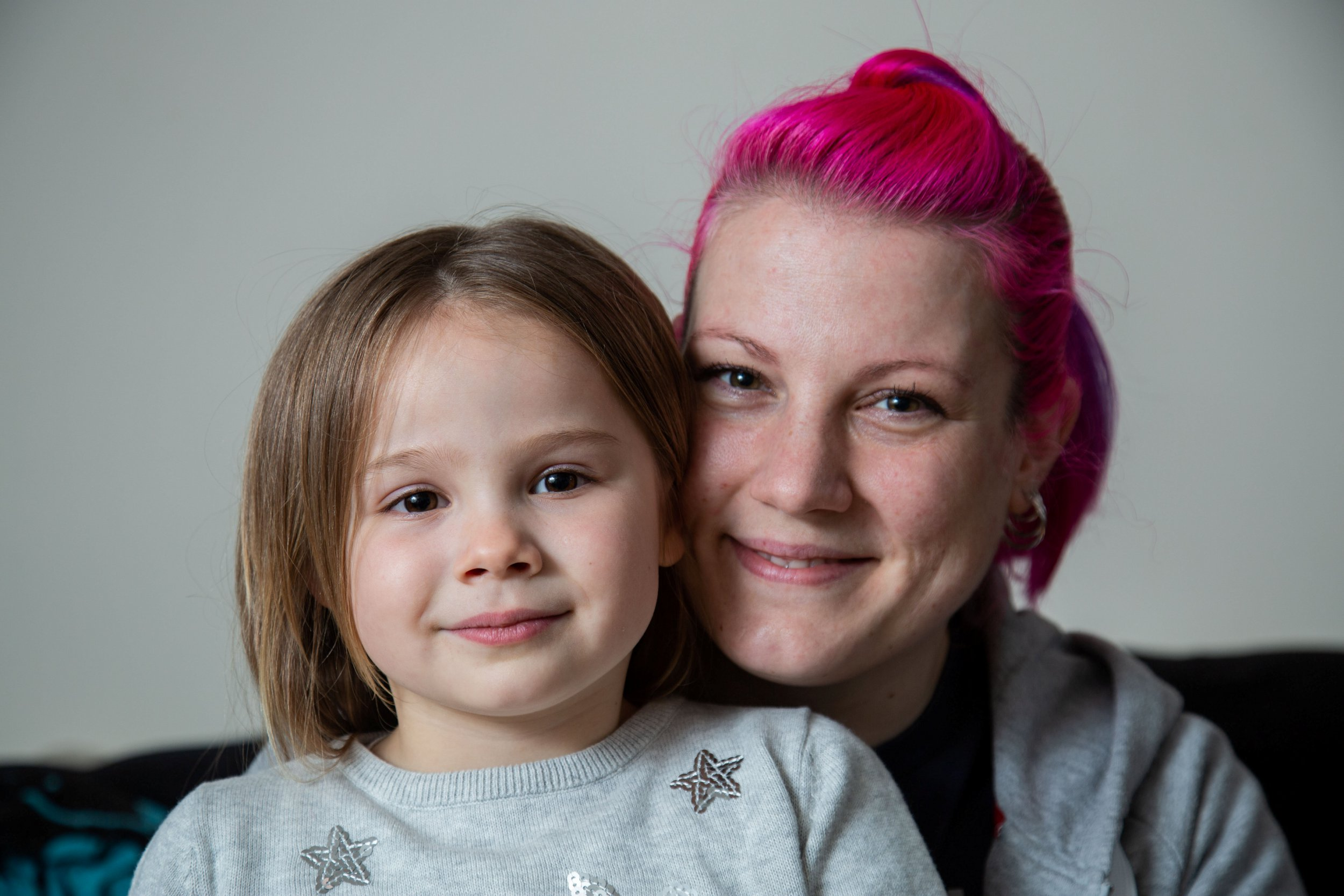 Valerie Hawkett with her daughter Teagan who were found by the police after a car crash using the What 3 Words website, which allocates three random words to a 3x3m grid location. Trowbridge, Wiltshire. See SWNS story SWBRwords. A mum and daughter have become the first people rescued by police using a new tool - that can track people anywhere in the world using three WORDS. Valerie Hawkett, 33, was lef disoriented when she lost control driving round a sharp bend and her car went flying over a hedge and landed on its side in a field. Her four-year-old daughter was in the back and Valerie tried to call the police to come to her aid - but was so shocked by the accident she didn't know where she was. Luckily, police were able to find their way to Valerie in the field - after texting her the link to a website called What 3 Words. It opens on any device and is able to find the exact position of any location on Earth -using just three words. The geocoding system has divided the planet into 57 trillion 3-metre by 3-metre squares, assigning each square a random three-word 'address'. It told her the three word grid she was in - 'weekend foggy earphones' - which directed police to a road near a field on the A36 heading out of Norton St Philip, Somerset.