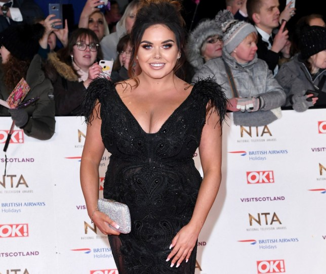 LONDON, ENGLAND - JANUARY 22: Scarlett Moffatt attends the National Television Awards held at The O2 Arena on January 22, 2019 in London, England. (Photo by Karwai Tang/WireImage)