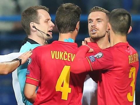 Montenegro star Stefan Savic slams Jordan Henderson for 'ugly' comment during England win