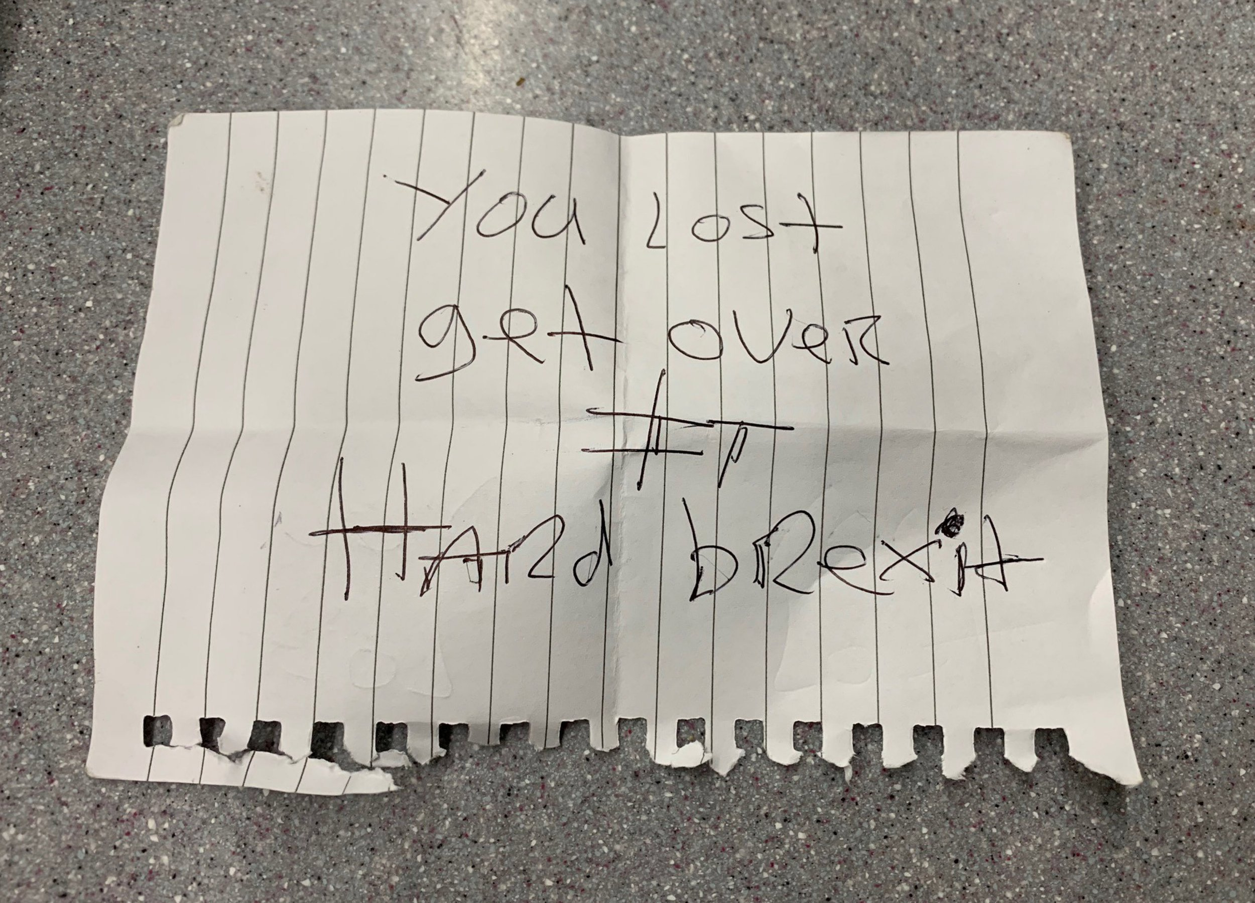 Stranger's 'get over it' note to Irishman he overheard discussing Brexit on train