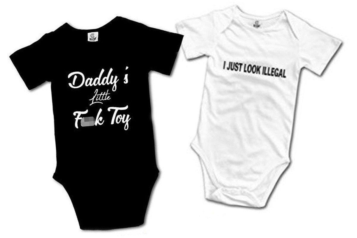 Pro-paedo baby grows being sold on Amazon Amazon baby bodysuit