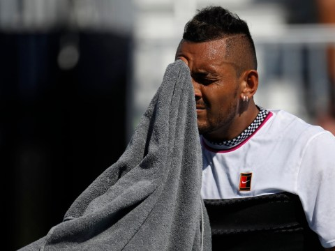 Nick Kyrgios speaks out after telling Miami Open fan to 'f**k off' mid-match