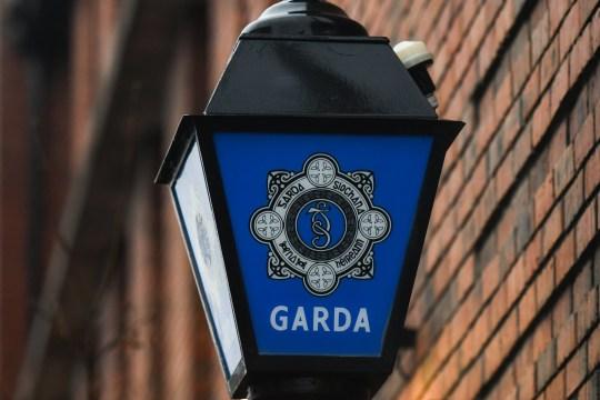 A Garda Lamp with a Garda Siochana logo seen outside a Blackrock Garda Station. On Friday, December 14, 2018, in Dublin, Ireland. (Photo by Artur Widak/NurPhoto via Getty Images)