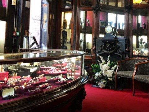 Daring thieves 'tunnelled into jewellers to take £1,000,000 in diamonds and gems'