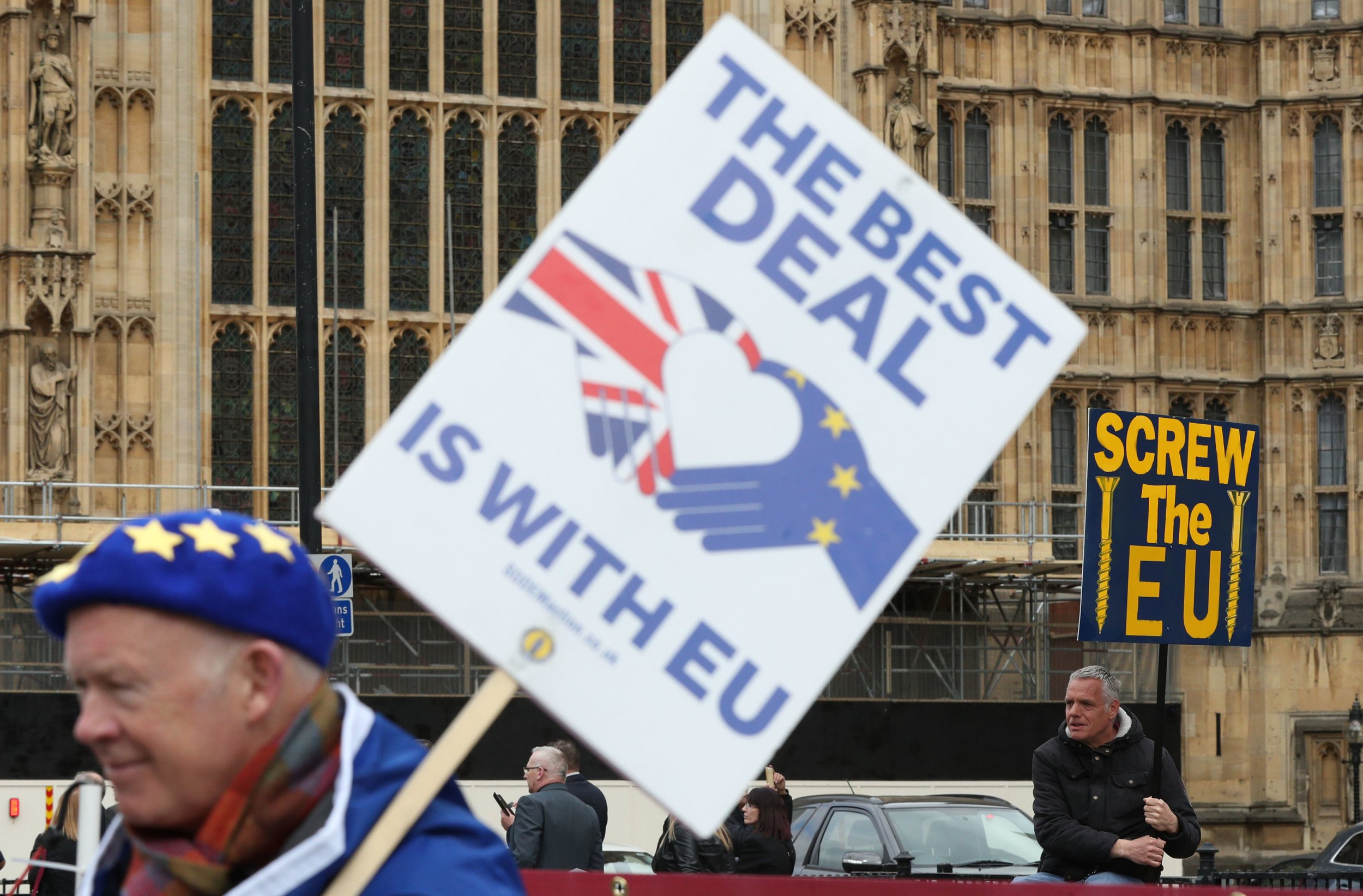 MPs reject second referendum and all other Brexit options including no Brexit