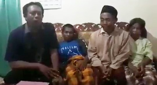 Pic shows: The 55-year-old apologized for suspecting his son-in-law for his daughter`s death INDONESIA: A man mourning the sudden death of his 23-year-old wife was forced to show cops his penis after his father-in-law claimed it was so big it had killed his daughter during sex.