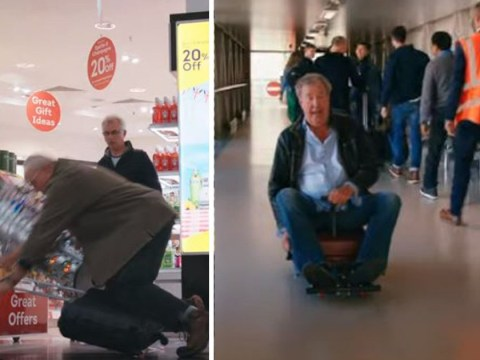 Jeremy Clarkson knocks over elderly passenger and gets caught with white substance in The Grand Tour trailer