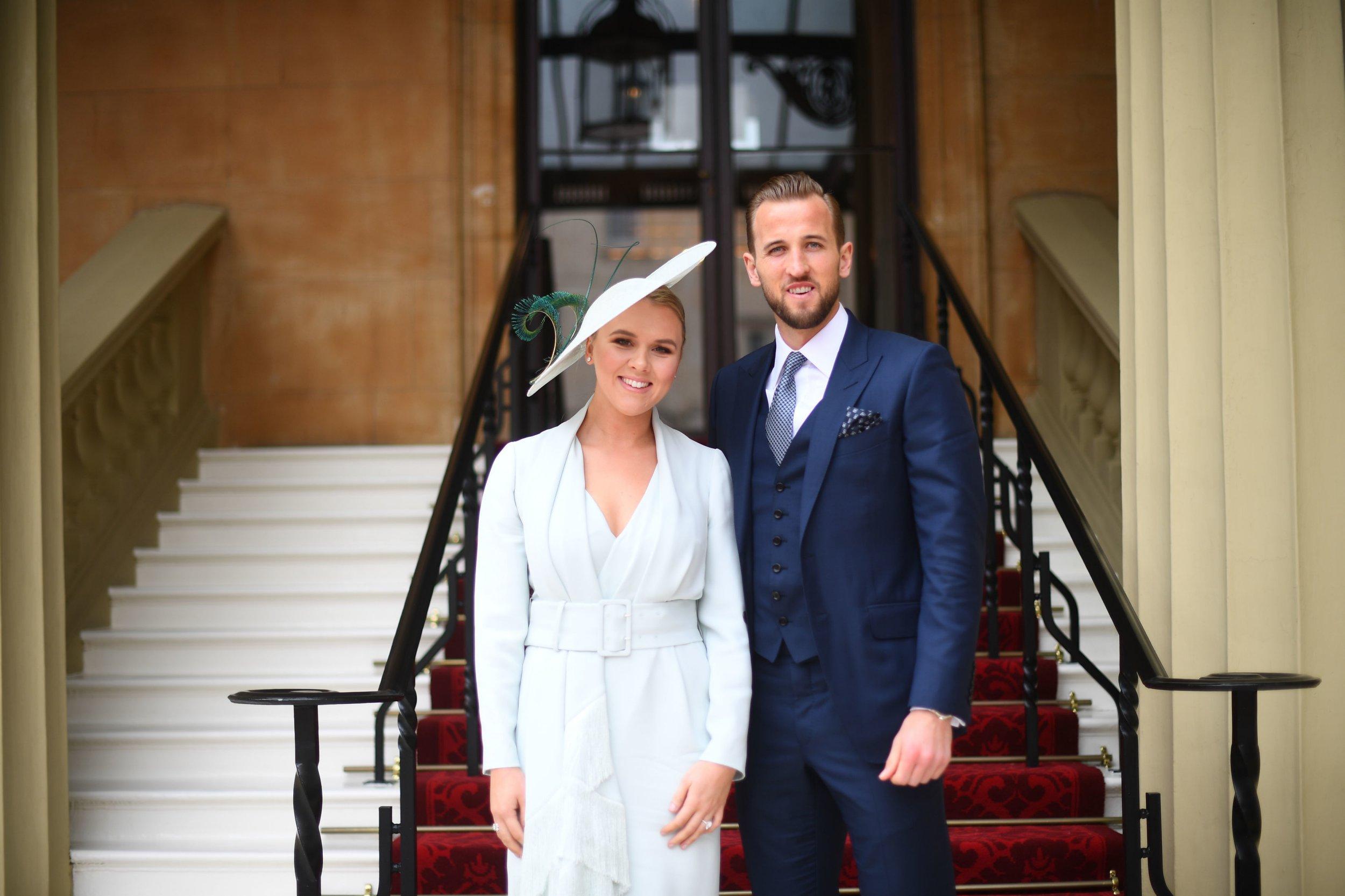 Harry Kane's fiancée Kate Goodland celebrates Spurs' Champions League win on hen do