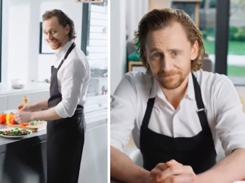 Tom Hiddleston's Chinese vitamin ad is the weirdest thing he's done since wearing an 'I heart Taylor' vest