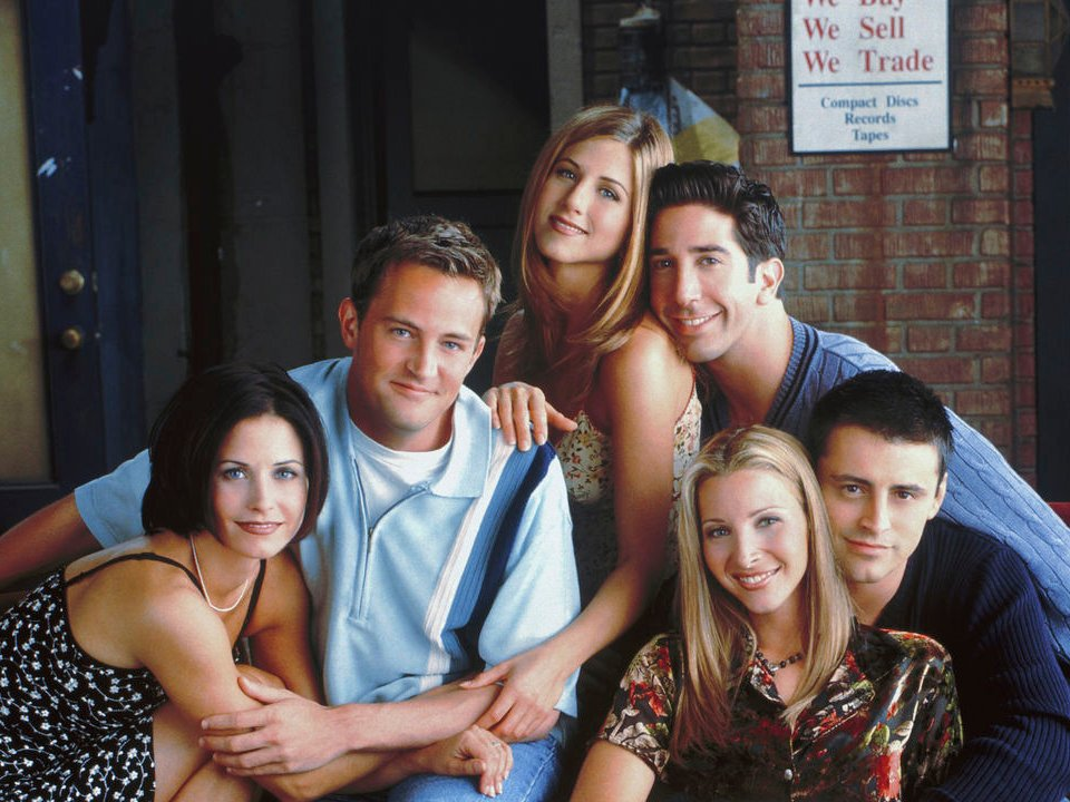 Courteney Cox shares terrifying Friends meme Friends main cast picture from Netflix