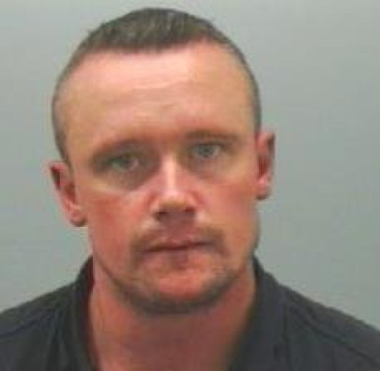 Ian Rawsterne was jailed for raping after sending the chilling text to his victim (Picture: Northumbria Police)