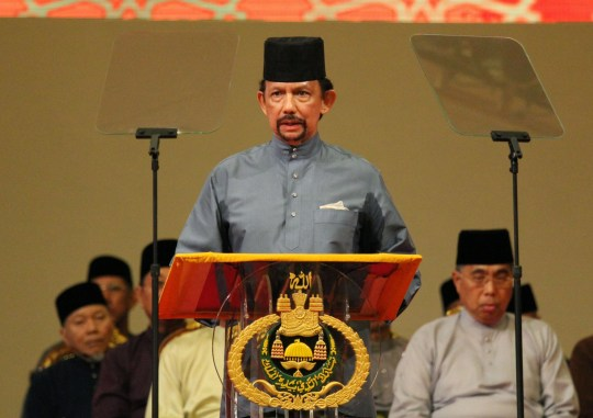 Gay people will be stoned to death as Brunei implements