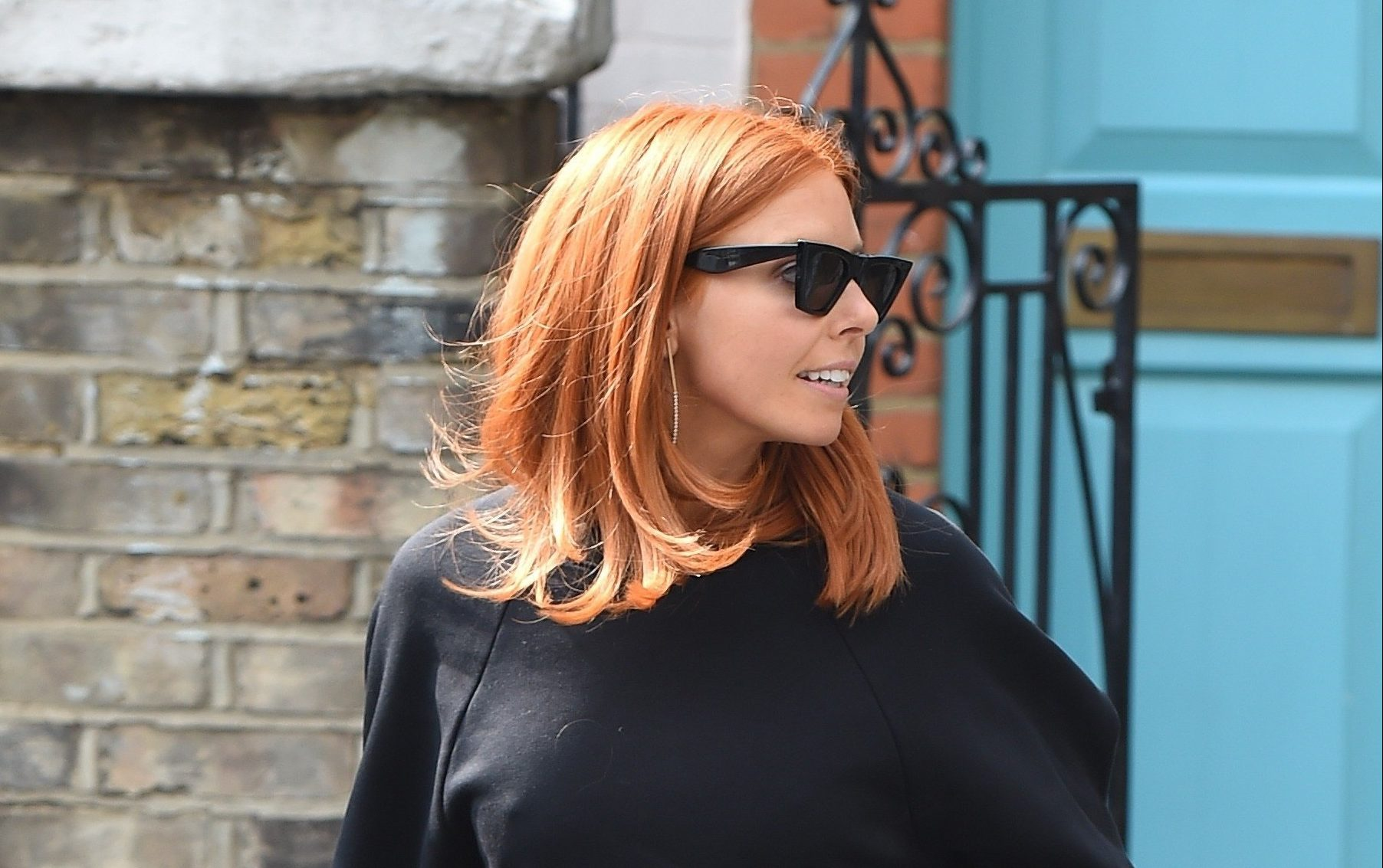 Strictly Come Dancing's Stacey Dooley is all smiles after 'split' from boyfriend