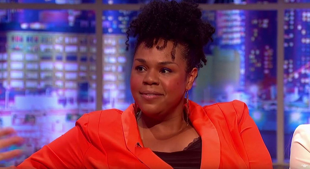Comedian Desiree Burch recalls when she was a virgin dominatrix on the Jonathan Ross Show: 'I got paid to beat guys up'