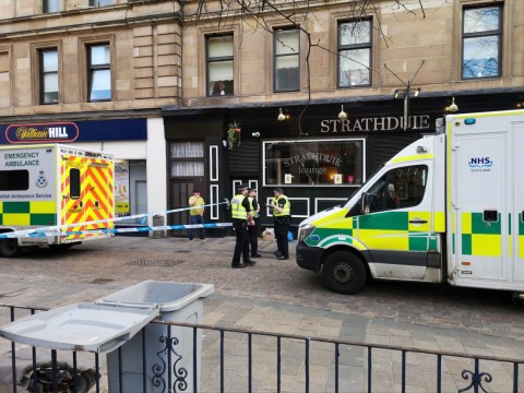 Three stabbed in fight between Celtic and Rangers fans after Old Firm match
