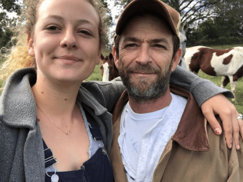 Luke Perry's daughter Sophie calls out trolls for shaming her after Riverdale star's death