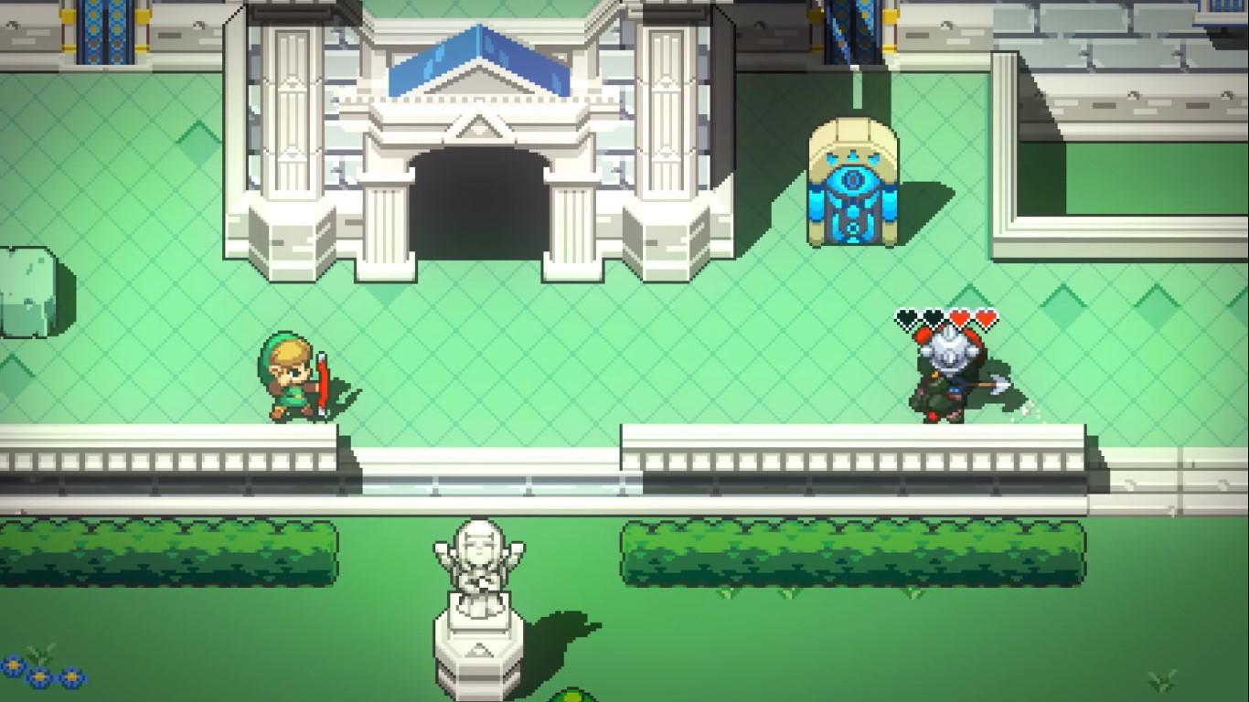 Cadence Of Huyrle - a new 2D Zelda, arrange of
