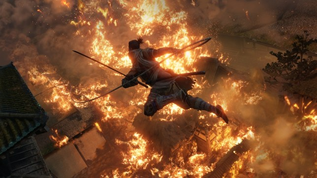 Sekiro: Shadows Die Twice - the graphics are fairly low-tech but they can still impress