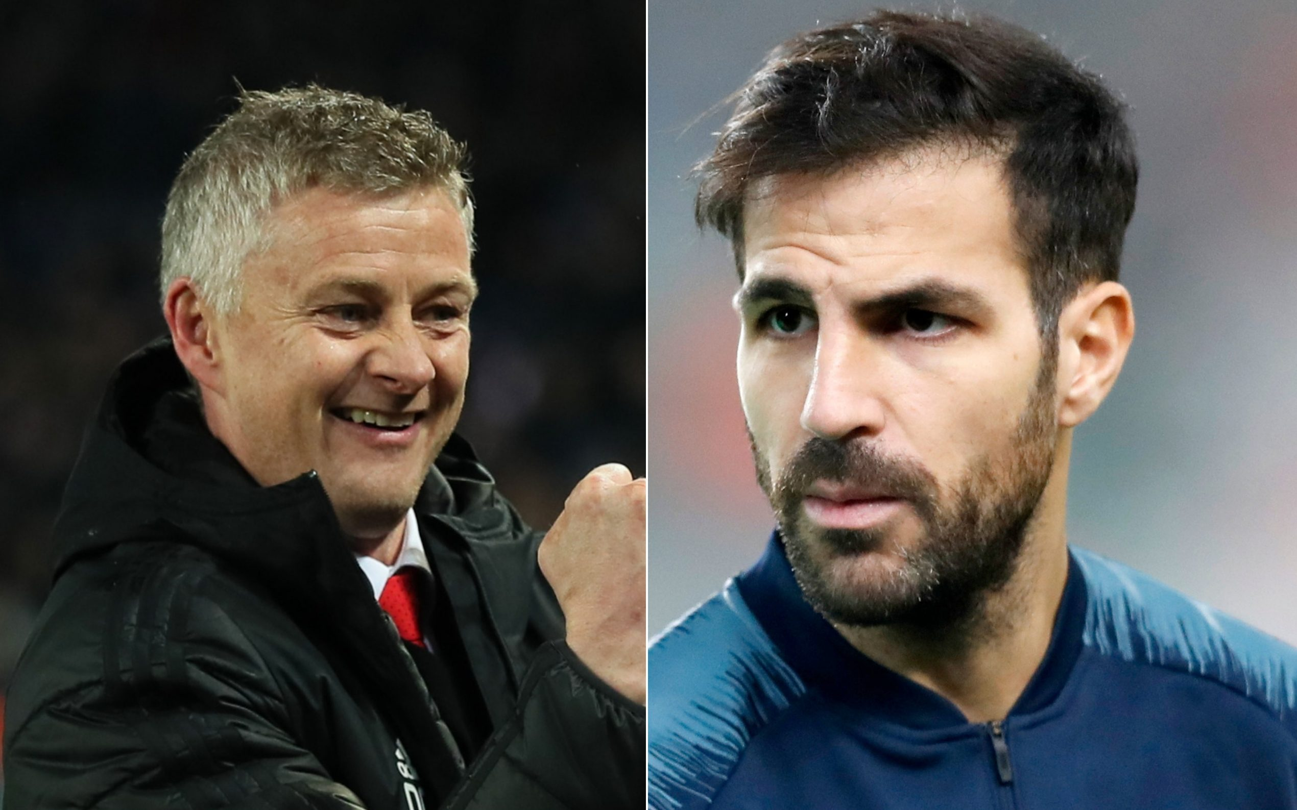 Cesc Fabregas hits back at ex-Arsenal teammate Julio Baptista for criticising Manchester United's tactics against PSG