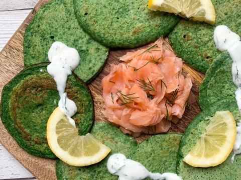 Pancake Day 2019: Savoury spinach pancake recipe