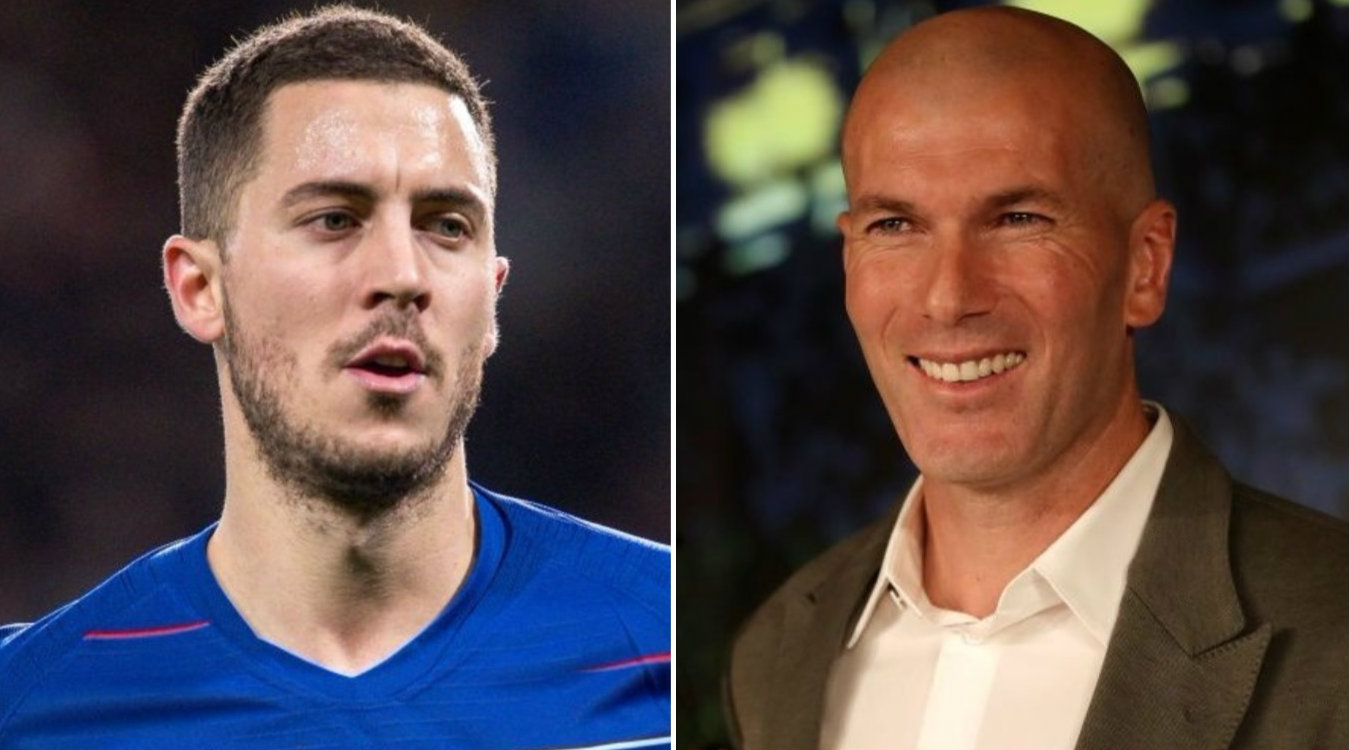 Willian sends message to Eden Hazard after Zinedine Zidane's arrival at Real Madrid