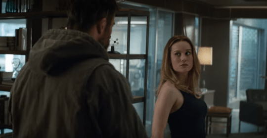 Captain Marvel meets Thor