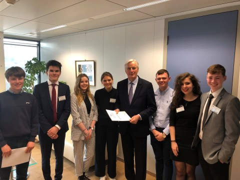 I met Michel Barnier to tell him why teenagers like me are worried about the Irish backstop