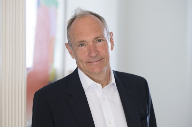 Tim Berners-Lee the inventor of the World Wide Web