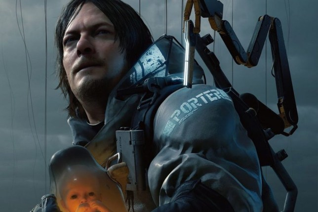Death Stranding gameplay trailer has peeing mechanic and baby-soothing motion controls