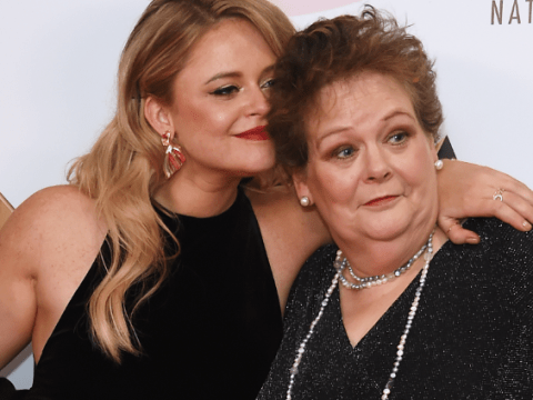 Emily Atack troll branded a 'c**t' by Anne Hegerty is actually defending vile post