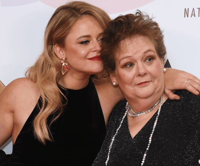 Anne Hegerty and Emily Atack