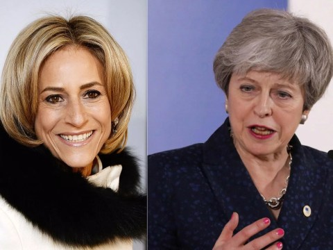 Newsnight host Emily Maitlis shades Theresa May as she claims PM is 'hard to make interesting'