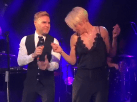 Emma Willis duetting with Gary Barlow in footage unveiled by Keith Lemon is everything we ever wanted