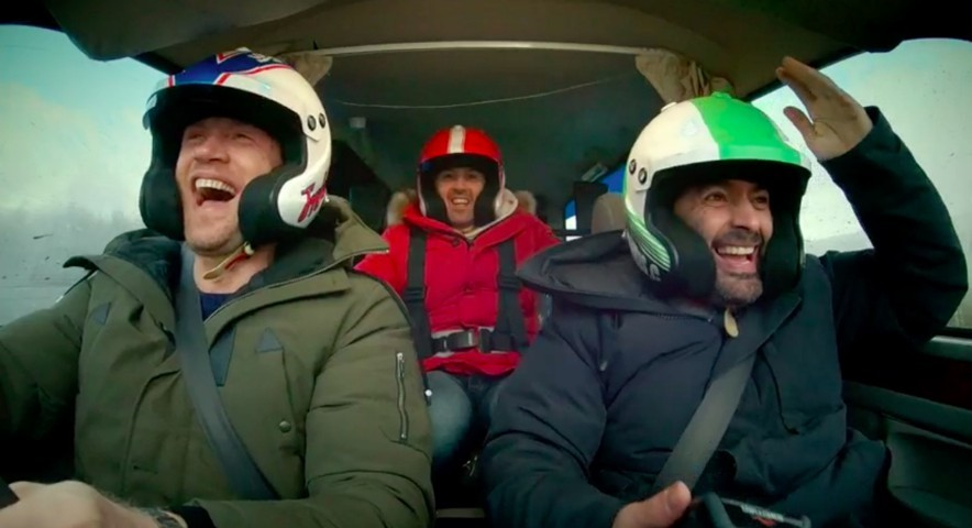 Top Gear's new teaser trailer sees Freddie Flintoff and the boys drive a hearse after Matt LeBlanc's departure