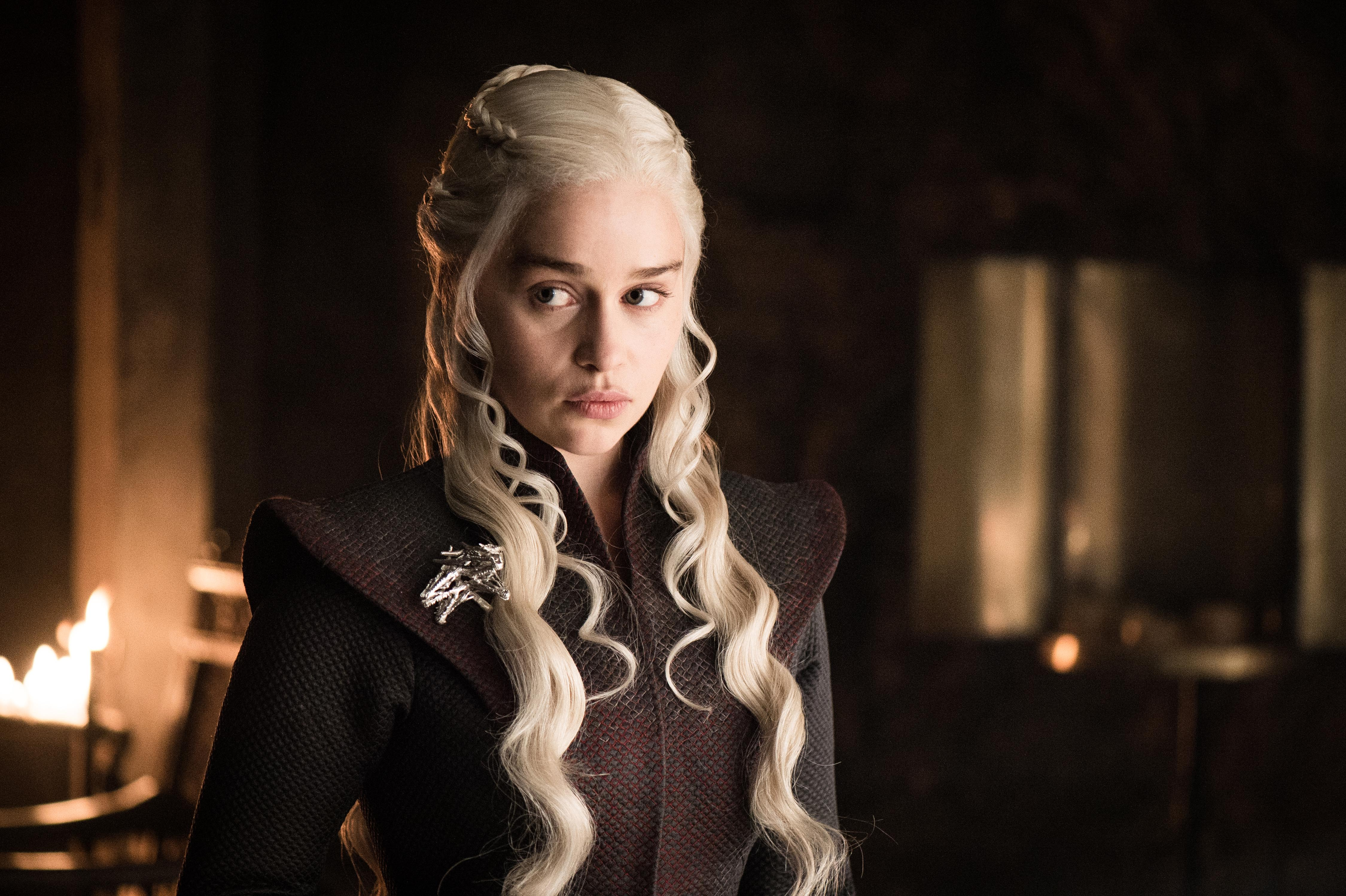Emilia Clarke compares Game Of Thrones ending to taking off a bra
