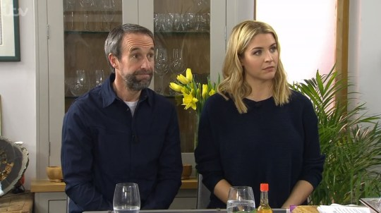 gemma atkinson on saturday kitchen