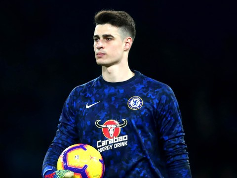 Maurizio Sarri reveals when Kepa Arrizabalaga will next play for Chelsea
